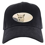 Norwich Terrier Black Cap with Patch