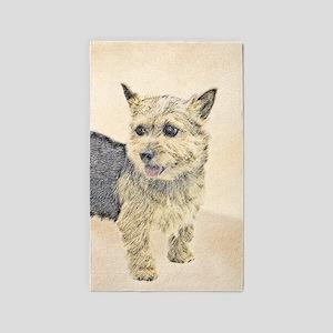Norwich Terrier Area Rug