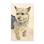 Norwich Terrier 20x12 Wall Decal