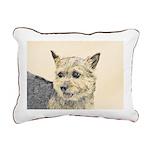 Norwich Terrier Rectangular Canvas Pillow