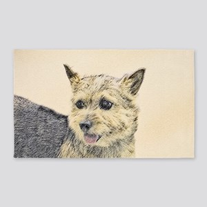 Norwich Terrier Area Rug