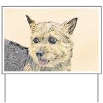 Norwich Terrier Yard Sign