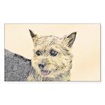 Norwich Terrier Sticker (Rectangle 50 pk)