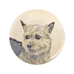 Norwich Terrier Button