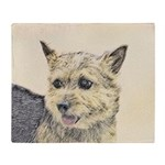 Norwich Terrier Throw Blanket