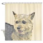Norwich Terrier Shower Curtain