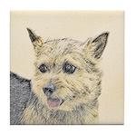 Norwich Terrier Tile Coaster