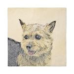 Norwich Terrier Queen Duvet