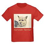 Norwich Terrier Kids Dark T-Shirt