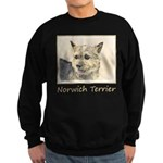 Norwich Terrier Sweatshirt (dark)