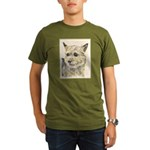 Norwich Terrier Organic Men's T-Shirt (dark)