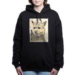 Norwich Terrier Women's Hooded Sweatshirt