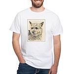 Norwich Terrier White T-Shirt