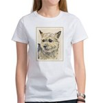 Norwich Terrier Women's Classic White T-Shirt