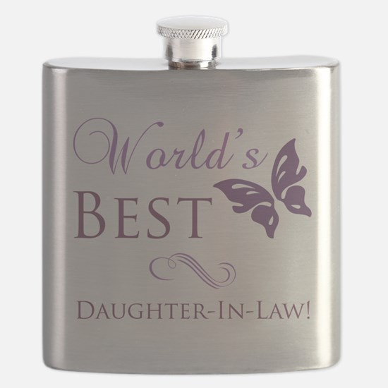World's Best Daughter-In-Law Flask