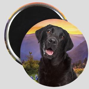 Labrador Meadow Magnet