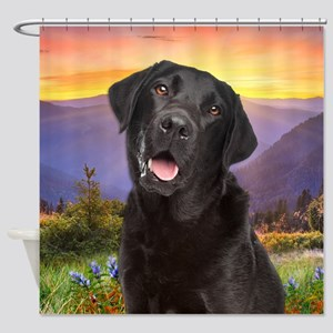 Labrador Meadow Shower Curtain