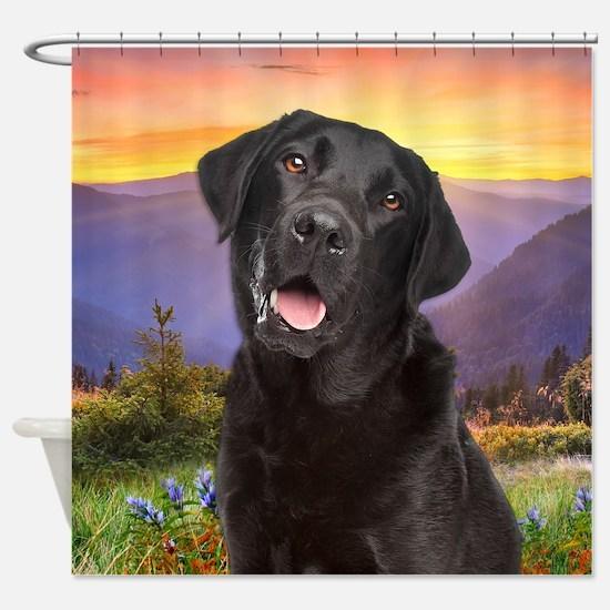 Labrador Meadow Shower Curtain