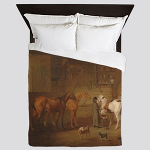 The Blacksmiths Shop Queen Duvet