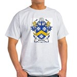 Barclay Coat of Arms Ash Grey T-Shirt