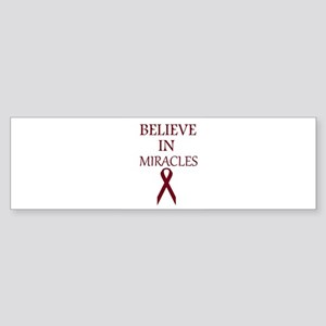 Multiple Myeloma Miracles Bumper Sticker