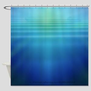 Underwater Light Shafts- Shower Curtain
