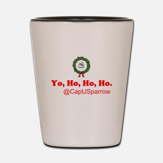 Yo, Ho, Ho, Ho Shot Glass