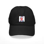 Union Jack Pound Black Cap