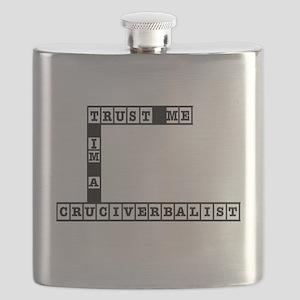 Trust Me Im a Cruciverbalist Flask