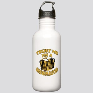 Trust Me I'm a Brewmaster Stainless Water Bottle 1