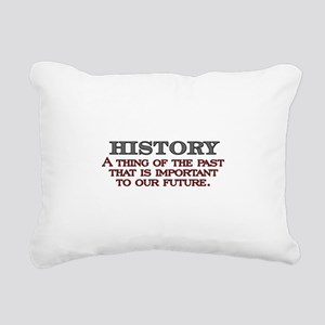 History A Thing of the Past Rectangular Canvas Pil