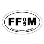 FFM 1 Oval Sticker