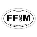 FFM 2 Oval Sticker