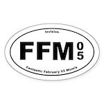 FFM 3 Oval Sticker