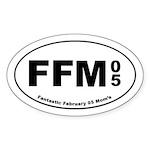 FFM 4 Oval Sticker