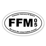 FFM 5 Oval Sticker