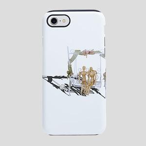 Having a Date on a Garden Swin iPhone 7 Tough Case