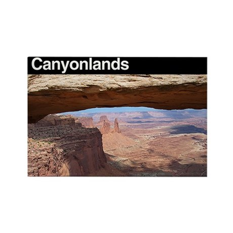 Canyonlands NP Rectangle Magnet