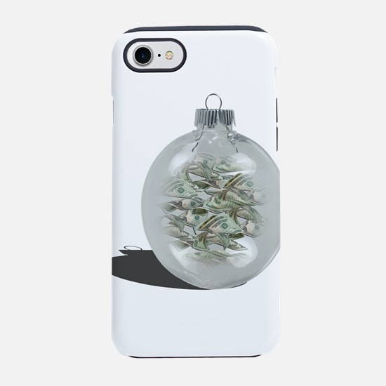 Christmas Ornament filled with iPhone 7 Tough Case