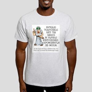 Latin Discipline Ash Grey T-Shirt