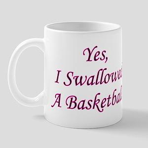 Swallowed A Basketball Mug