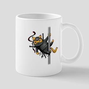 Ninja Cat Mugs