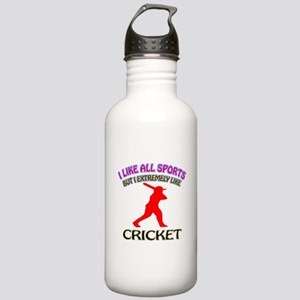 Cricket Design Stainless Water Bottle 1.0L