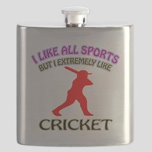 Cricket Design Flask