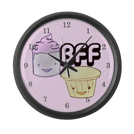 BFF Large Wall Clock