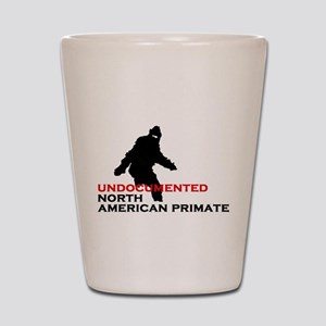 Undocumented North American Primate Shot Glass