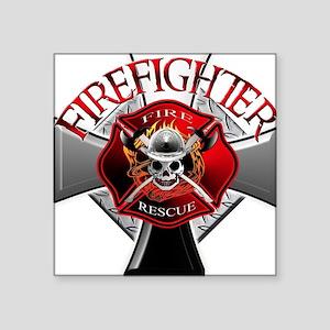 Firefighter Rectangle Sticker