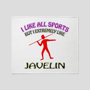 Javelin Design Throw Blanket