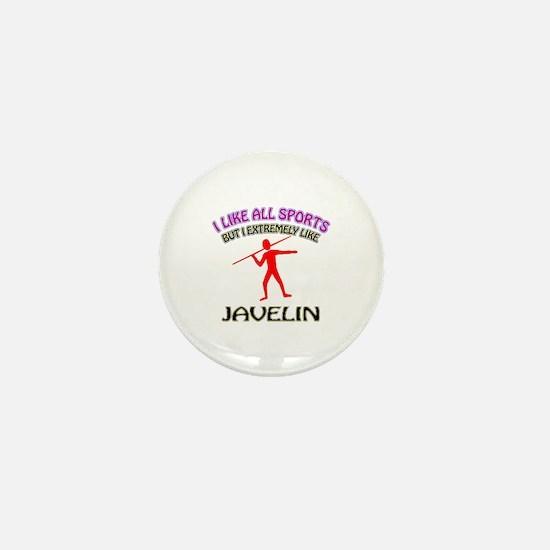 Javelin Design Mini Button