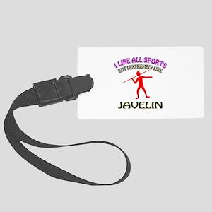 Javelin Design Large Luggage Tag